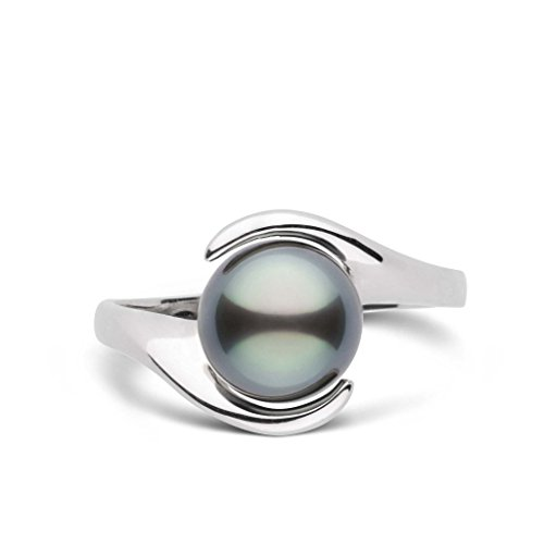Embrace Collection Tahitian Cultured Pearl Ring - Sterling Silver - Ring Size 5