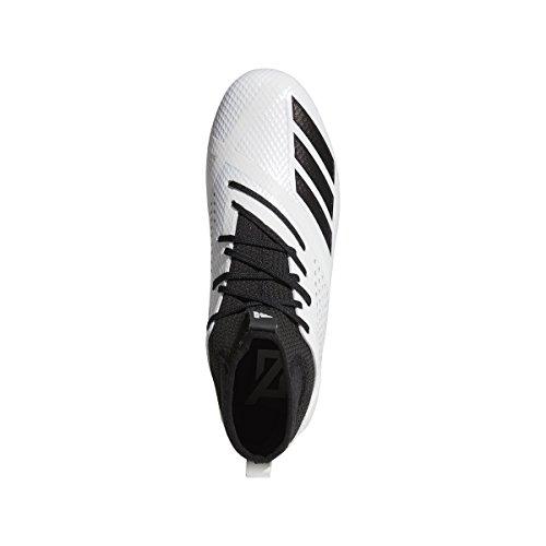 Adidas Adizero 5star 7.0 Mid Cleat Mens Football Bianco-nero