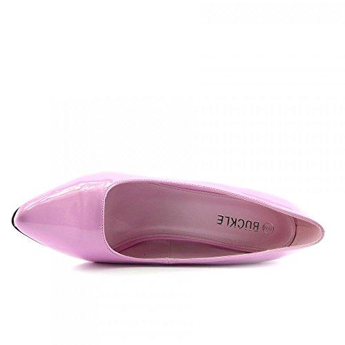 de Sint Zapatos Buckles Shoes Piel de Vestir q4xIwY