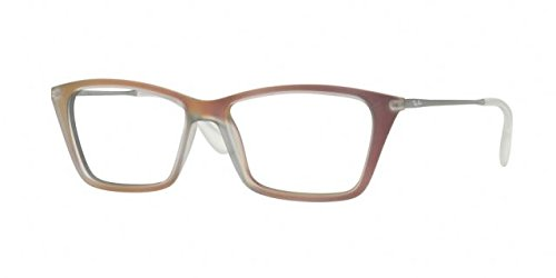 Ray-Ban Women's RX7022 Shirley Eyeglasses Iridescent Red 52mm