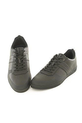 Jack & Jones - Zapatillas de poliuretano para hombre negro antracita