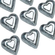 Silver Chocolate Wrapped (Gift Wrapped Heart)