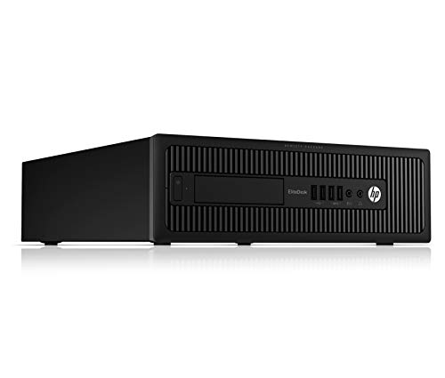 HP EliteDesk 800 G1 SFF Black Desktop PC, Intel Quad Core i5-4570 3.20GHz, 8GB RAM, 1TB HDD with Windows 10 Pro (Renewed…