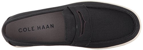 Cole Haan Men's Hyannis II Penny Loafer Black Canvas wiki cheap price outlet sast buy cheap hot sale clearance fast delivery sale pre order MfdGMG