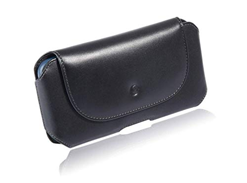 monsoon [Mohawk] Genuine Leather Case Holster with Belt Clip for iPhone XR (6.1