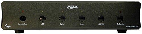 Metrum Acoustics ONYX Balanced non-oversampling DAC with remote (Black) by Metrum Acoustics