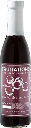 Fruitations Cranberry Craft Soda & Cocktail Mixer -