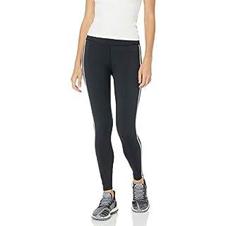 adidas Women's Believe This 2.0 AEROREADY 3-Stripes 7/8 Workout Training Yoga Pants Leggings, Black/White, 1X