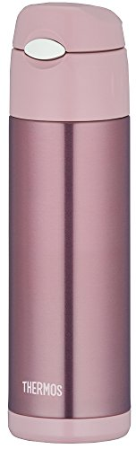 THERMOS vacuum insulation straw bottle 0.5L Pearl Pink FFI-500 PRP by Thermos