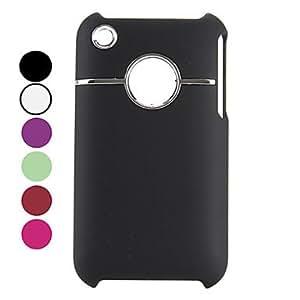 conseguir Carcasa de Diseño Especial Dura para el iPhone 3G y 3GS , Blanco