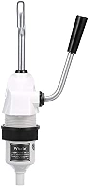 Whale GP0418 Flipper Pump Mk 4 Hand-Operated Galley Water Pump, 1/2-Inch Flexible Hose Connection, 1.85 GPM Ma