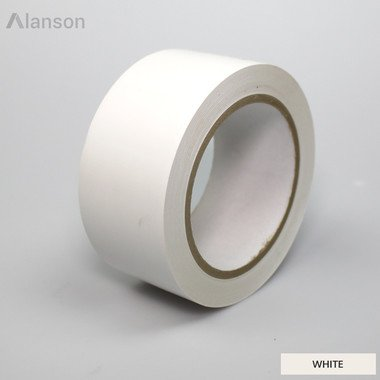 Colored Vinyl Tape (65015) (White, Case, 6 Mil, 36 yds , 6