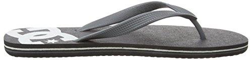 DC Shoes Men's Spray Flip Flops Schwarz (Armor/Black 1ab) YVED6uk