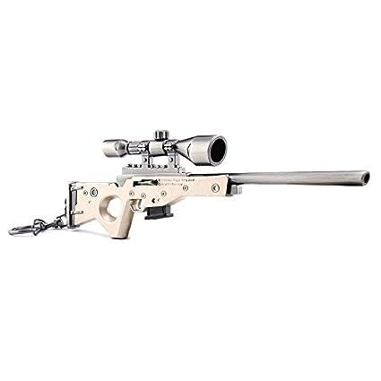 Amazon Com Awm Chou Ge Toy 6 8 Metal Game Model Figure Rifle Sling