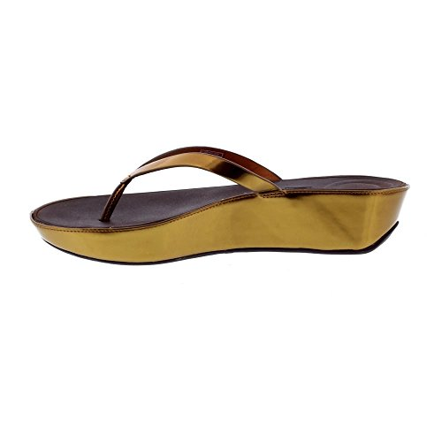 Womens Post Linny Toe Mirror Bronze Fitflop™ Sandals OqS5Uw7