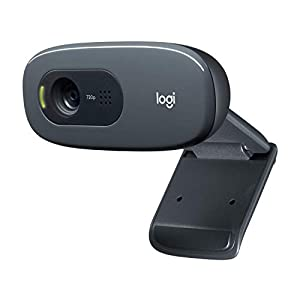 Logitech C270 3MP 1280 x 720pixels USB 2.0 Black Webcam