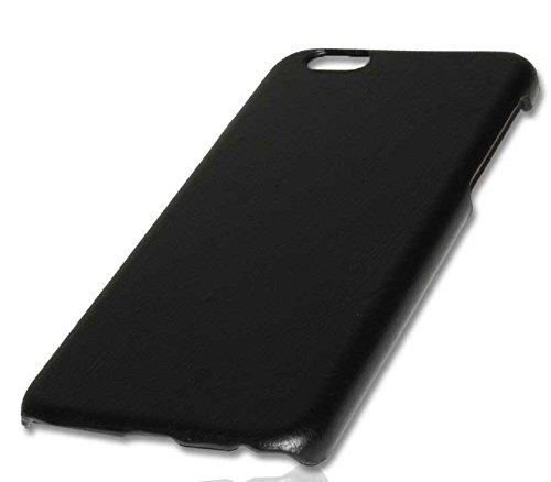 Hard Cover Case Handy Tasche für Apple iPhone 6 / Handytasche Schutzhülle Hülle Schwarz