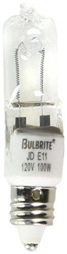 Bulbrite Q100CL/MC-10PK 100W 120V Halogen JD Type Mini-Ca...