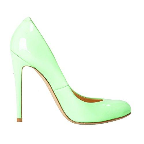 Giuseppe Zanotti Design Donna Menta Verde Tacco Alto Scarpe Us 4.5 It 35.5