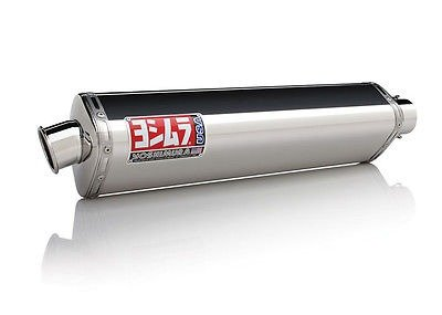 - Yoshimura TRS Dual Tri-Oval Polished Stainless Steel Slip-On Exhaust - Honda CB919 2002-2007