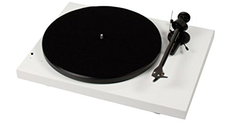 Pro-Ject Debut III Recordmaster Turntable with USB and Phono Preamp- White (Turntable Preamp With Usb compare prices)