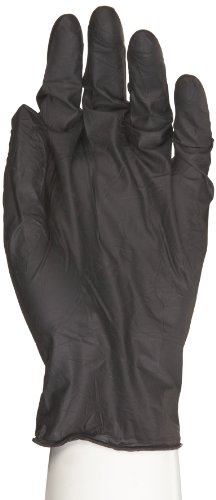 Microflex MidKnight Nitrile Glove, Powder Free, 9.6'' Length, 4.7 mils Thick, Small (Pack of 1000) by Microflex (Image #1)
