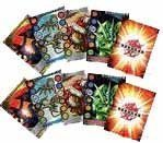 Bakugan Battle Brawlers Game Metal Trading Card Lot of 10