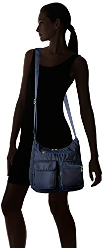 Lightweight Travel Blue BA10 Handbag Crossbody Carryall Bag Suvelle Multi Protection Blocking RFID Pocket Shoulder gqxwAAdRC