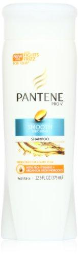 Pantene Pro-V Гладкий Шампунь 12,6 жидких унций (в упаковке 6)