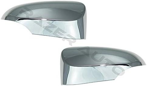 Q3 A6 A4 Xtremewarez Triple Chrome Plated Door Mirror Cover WITH Turn Signal Cutout for Audi A3 A5