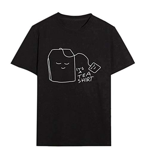 17740fde24 vermers Womens Short Sleeve T Shirts Plus Size Print Tea Tees Shirt Casual  O-Neck