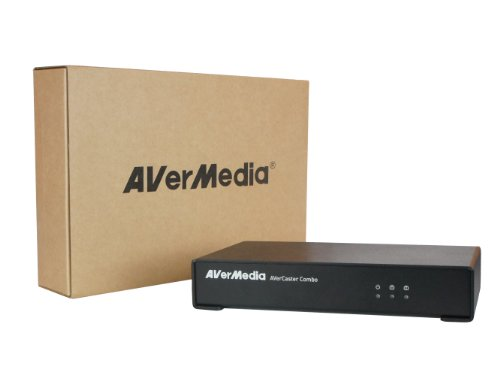 AVerMedia AVerCaster Combo, the Compact Video Encoder for Live TV and Video Streaming through Local LAN (F236) by AVerMedia Technologies Inc.