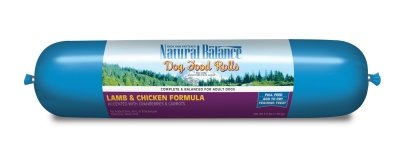 "LAMB/CHICKEN FOOD ROLL 3.5LB ""Ctg: NATURAL BALANCE - NA DOG DRY"""