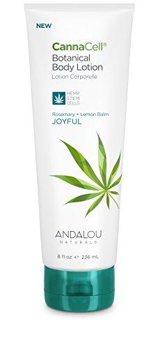 Andalou Naturals CannaCell Body Lotion - JOYFUL 8 fl oz