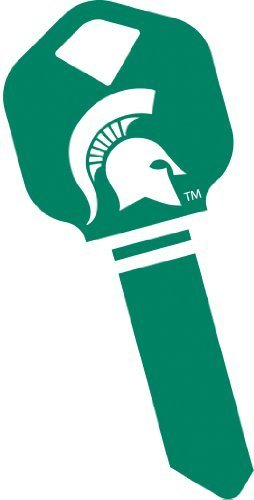 NCAA - Michigan State Spartans House Key Kwikset / Titan / UltraMax KW1.
