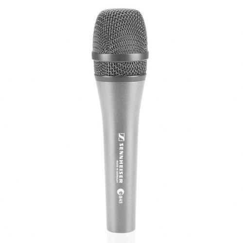 Sennheiser E 845-S Dynamic Super Cardioid Microphone (Mic Supercardioid Dynamic Sennheiser)