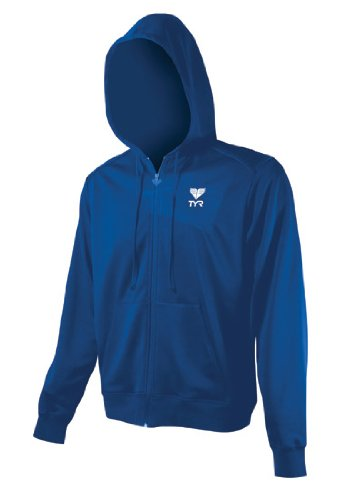 Tyr Deck Zip Hoodie Male Royal Small (Deck Apparel Tyr)
