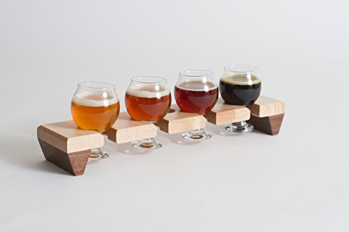 Beer Flight, Beer Sampler, Beer Tasting set (Flight Sampler)