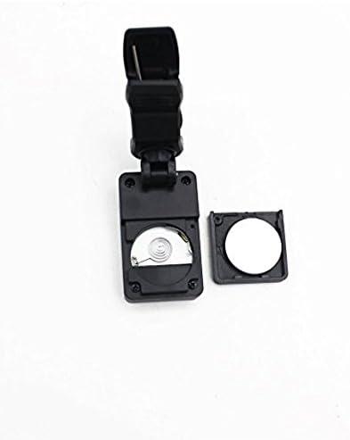 color negro Sonpo Afinadores crom/áticos digitales de rotaci/ón de 360 grados para bajo ukelele y guitarra el/éctrica