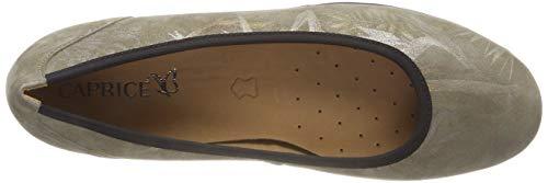 Para 723 Caprice khaki Mujer Bailarinas 22151 Jungle Verde 7qqB8