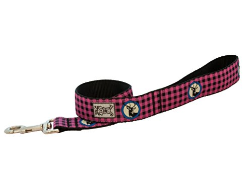 Pink Buffalo (RC Pet Products - Wide Dog Leash - 1 1/2