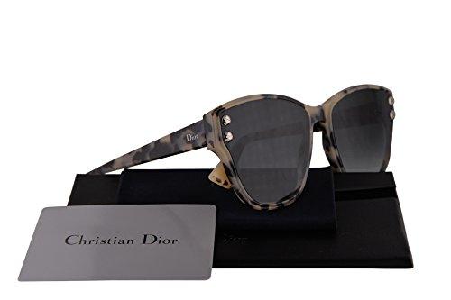 sol mm 3 DiorAddict blanca Dior Christian diorAddict3 de gris lente adicto 3 Gafas AHF1I havana 60 gXnFPpxT