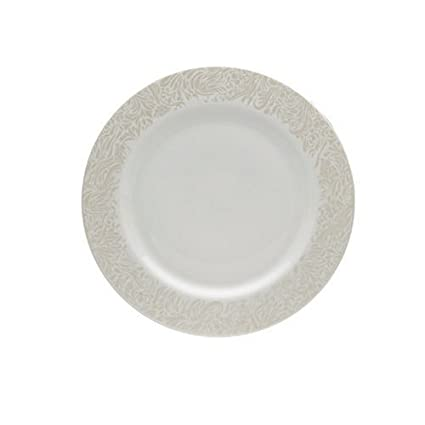 Amazon.com | Denby Monsoon Home Lucille Gold 11-1/4-Inch Dinner ...