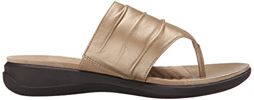 Gold Sandal Wedge Toma Women's Wash SoftWalk wYIgaa