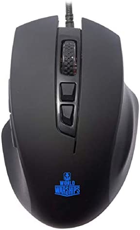 Ant Esports GM200W Optical Wired Gaming Mouse | 6 Programmable Buttons, 3200 DPI Adjustable and 7 Breathing Lights – Black