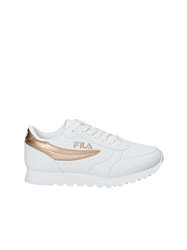 Fila Womens Orbit P Low Synthetic Sneakers White