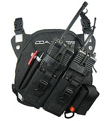 Coaxsher DR-1 Commander Dual Radio Chest Harness 1 Chest Pack