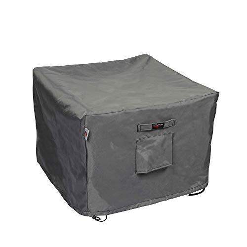 Shield Titanium 3-Layer Water Resistant Outdoor Tea Cart Cover - 37.5x26x32/33.5