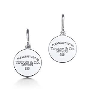 Tiffany And Co Earring Return To New York Round Silver 003