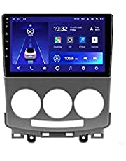 Android 10.0 Car Stereo Sat Nav Radio for Mazda 5 2005-2010 GPS Navigation 9''Head Unit Touchscreen MP5 Multimedia Player Video Receiver with 4G WiFi FM SWC Carplay